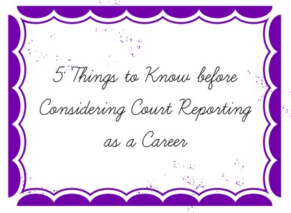 What to know before you start court reporting school