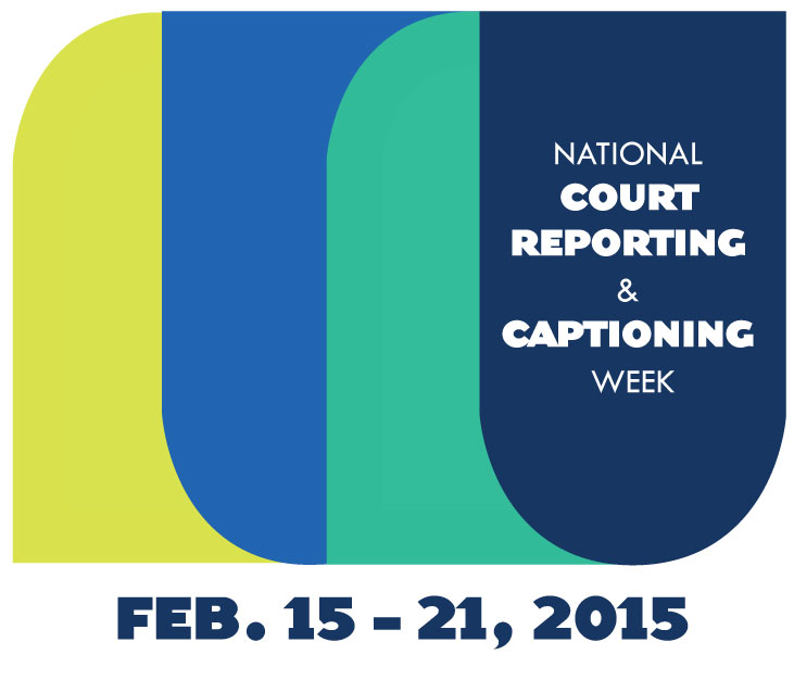 court reporting and captioning week 2015